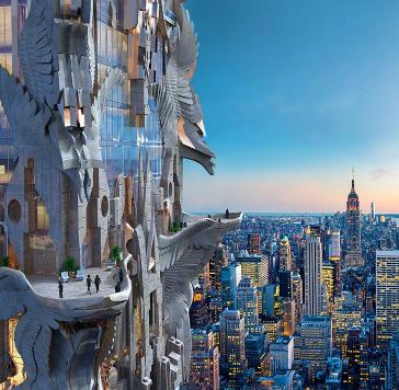ニューヨークの超高層ビルのデザインがすごい