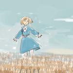 その者、青き衣をまといて金色の野に……