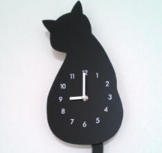 ニトリで猫時計を買う。嫌な予感する。