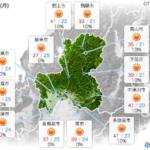 明日の岐阜県は全体的にまずい。逃げようがない。