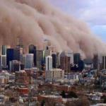 この都市に襲い掛かる物体は『ハブーブ』と呼ばれる砂嵐です。