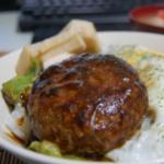 ハンバーグのつなぎにご飯を使うと美味しい