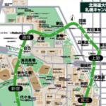 北海道大学札幌キャンパスの大きさがピンとこない皆さんのために山手線と比べてみました