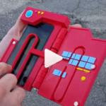 3Dプリンターで自作したポケモンゴー専用iPhoneケース!