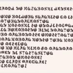 30分くらい掛かったけど、はーちゃんの読んでた魔法文字の解読終了しました。