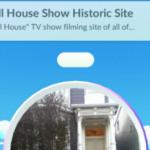 フルハウスの家がポケストップになってました。
