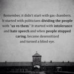思い出しなさい、それはガス室から始まったのではない事を。