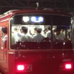 車掌室に名鉄職員が10人近く乗っている異様な光景!