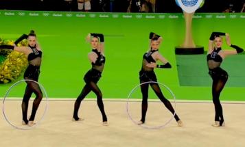 ウクライナ新体操のジョジョ感好き
