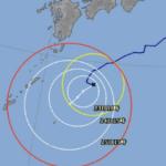 台風10号、間違いに気づく