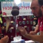 かんたがトルコアイス買った こいつばけもんおもろい in大阪