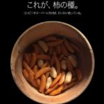 「柿の種」をiPhoneのサイト風にしてみました。