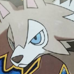 この可愛いワンコ、イワンコが進化するとこんなかっこいい正統派オオカミみたいなポケモン、ルガンガンになるのでゲーム買いますね欲しい!!