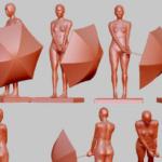 もう知ってる方は知ってるかもしれないけど、とても親切なサイト様を見つけてしまった……3Dモデルのポーズ資料を作成して紹介してくれてる……しかも色んな角度からも