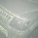 阿蘇山噴火で自分の車こんななってたんだけど…