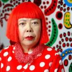 赤いのが草間彌生 白いのが樹木希林#文化勲章を贈られたのは赤