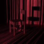 暗い部屋で被写体に向けてレーザーポインタを振り回して長時間露光撮影するとこういう写真が撮れます。レーザーフロッタージュ、と僕たちは呼んでいます。