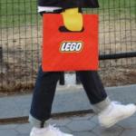 LEGOのショッピングバッグ、最高すぎる
