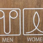 センバキッチン福島店のトイレ。  このマークは一体…?