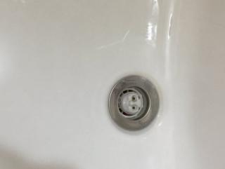 息子がお風呂で使ってるおもちゃ洗った後、なんか洗面台の水の流れが悪くて「あーなんか部品流しちゃったかな・・・」って思ってたらすべて流れ終わった後に現れたのがコレ