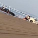 千里浜で86埋まってた。