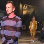 「スティングのセーターがダサい」と妻からこの画像が送られてきたものの明らかに違うところが気になる