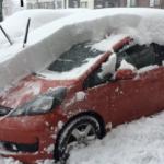 札幌市24時間の降雪量を可視化してみました