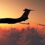 日本担当のサンタクロースは現在ロシア上空にてIL-78から空中給油を受けている
