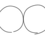 1.丸を書く 2.その中にまた丸を書いたら目になる 3.真ん中の円から棒を伸ばす 4.座ってる足の出来上がり