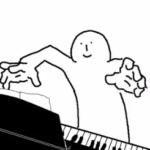 適当にピアノ弾く人
