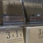 自分と同じ、あるいはプレゼントしたい相手と同じ誕生日の作家の本を選べる。366日分ある。