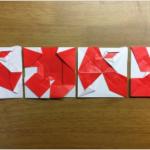 折 れ な い 紙 が あ る も の か  不切正方形×4枚