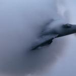 一枚目:積乱雲を抜け出すF-14A 二枚目:アホウドリのヒナ
