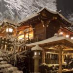 貴船神社雪見拝観 ライトアップされた境内 ロマンチックが止まりませんら