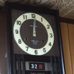 おばあちゃん家の時計、年を越せなかった