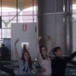 ウィーン国立バレエ団、空港にて