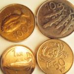 アイスランドの硬貨、海鮮で可愛いんだよ