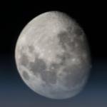 ISSから私が撮影した月の写真。大気は、私達が生きていく上で必要不可欠ですが、天体を観測するときは、観測を妨げてしまう事が理解いただけるかもしれませんね。