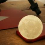3Dプリンタで月つくった〜