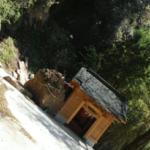 実家近所の神社に震災で降ってきた岩