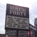 まったく理解できないけど、ひとつ確実に言えることは、ビールは野菜である。