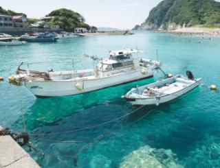 「船が宙に浮かんで見える海」で有名な高知県・柏島へ。