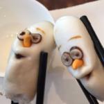 香港ディズニーの飲茶… オラフwwwwwww