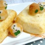 揚げ出しモクロー豆腐 作った甲斐あった可愛いのう………!!!!