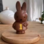 うさこちゃんのチョコレート、可愛いから食べるのがもったいなくて飾っておいたのだけど